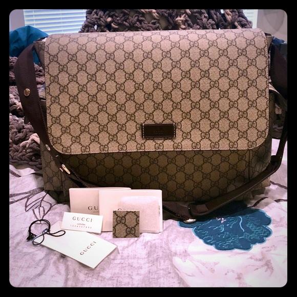 5e8e237be4f2 Gucci Bags | Authentic Gg Plus Diaper Bag | Poshmark